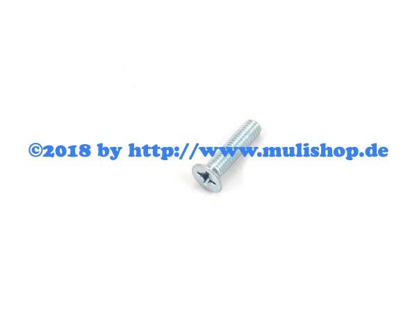 Senkkopfschraube M6 x 22 für Türschloß