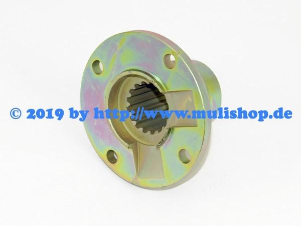 Flansch für Abtriebswelle Getriebe/Kardanwelle 4-Loch M24/M25