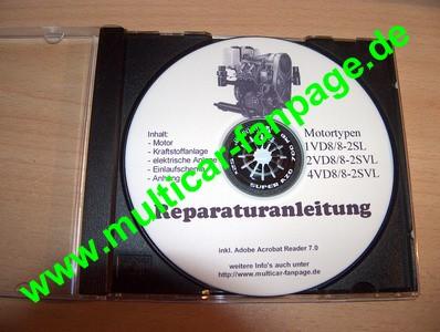 Reparatur- u Betriebsanleitunganleitung für Motor 1-4KVD8/8SVL