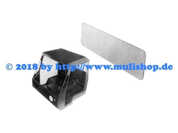 Heckscheibe 4mm (385 x 1250 x 4,0mm)