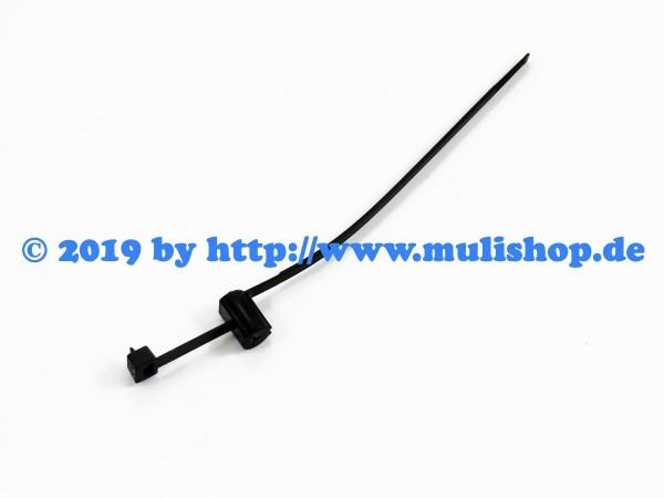 Kabelbinder aufsteckbar SB14/172 schwarz (172mm)