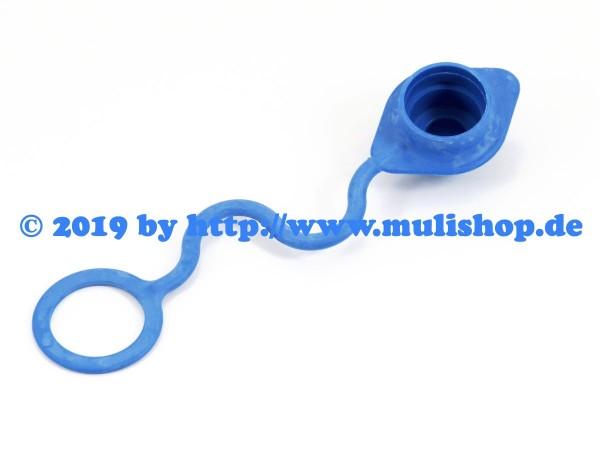 Staubschutz Stecker SKS Zubs 3 blau