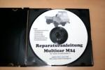 Reparatur-u Betriebsanleitung,Ersatzteilkatalog für Multicar M24