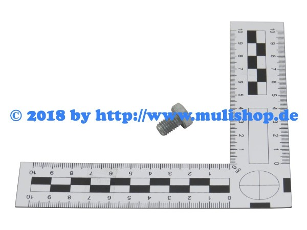 Sechskantschraube M8x12 - ISO 4017-8.8-Zn