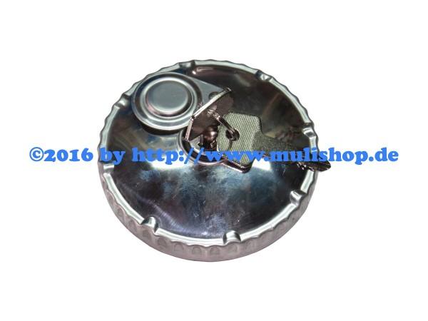 Tankdeckel Metall abschließbar mit 2 Schlüssel