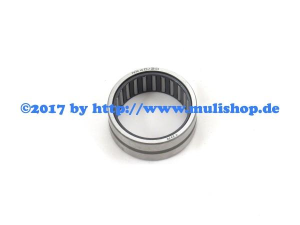 Nadellager NK 40/20 für Gelenkwelle radseitig M26.4/5/7 M27 M30 M31