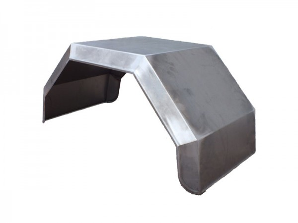 Kotflügel Metall 430mm breit