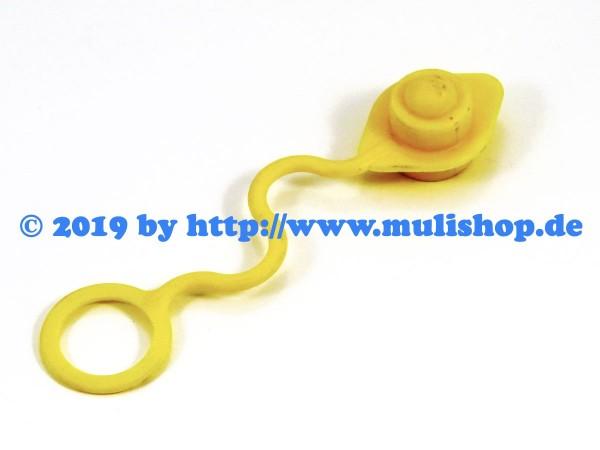 Staubschutz Stecker SKS Zubs 3 gelb