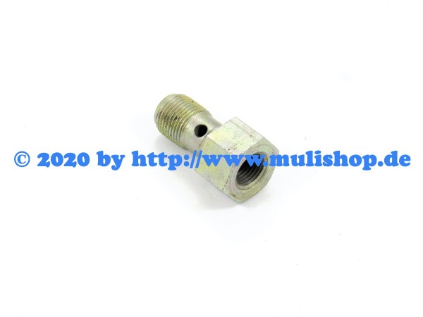 Hohlschraube / Adapter für Bremslichtschalter M12x1/M10x1