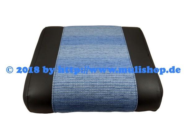 Sitzkissen schwarz/blau für M24 und M25