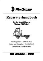 Reparaturanleitung für Multicar 25 Allrad 4x4