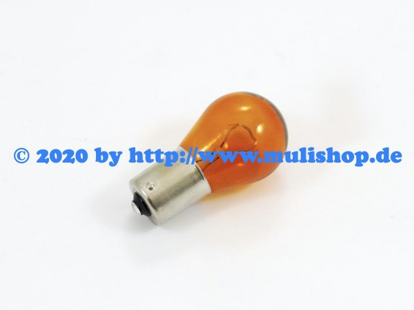 Glühlampe 12V/21W Orange
