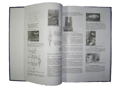 Reparaturhandbuch M22 in Leinen gebunden