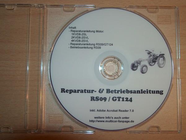 Reparatur- und Betriebsanleitung für RS09/GT124