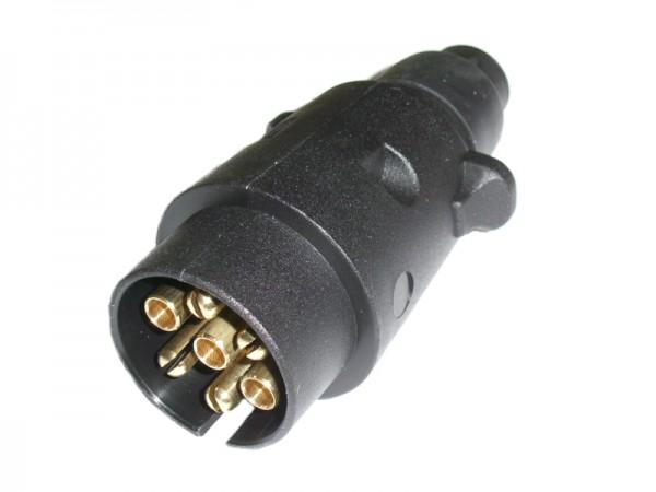 KfZ-Stecker 7-polig Kunststoff DIN 1724