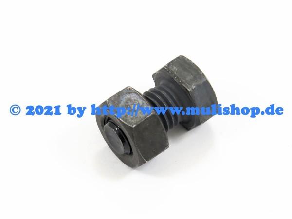 Sechskantschraube mit Mutter M12x20 für zweiteilige Felge M21, M22, M24, M25