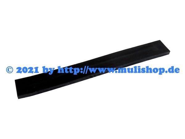Gummileiste für Schiebeschild 100cm mit Gewebe