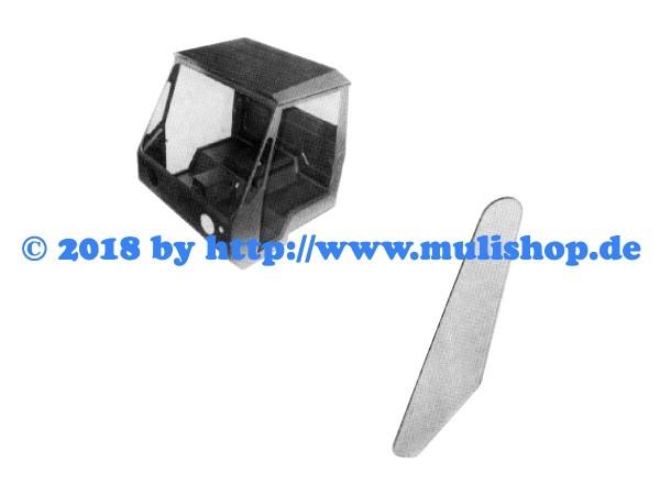 Seitenscheibe klein (Dreieckscheibe)