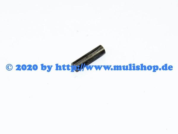 Zylinderkerbstift 6x22