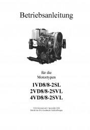Betriebsanleitung für Motor 1VD8/8-2SL, 2 und 4VD8/8-2SVL